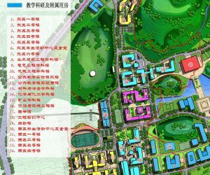 高校导航:贵州大学校园平面图
