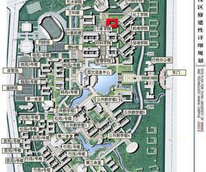 高校导航:中国矿业大学校园平面图