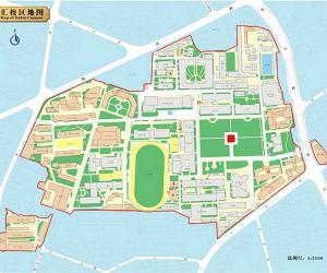 高校导航:上海交通大学校园平面图