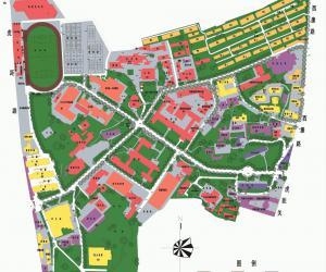 高校导航:河海大学校园平面图