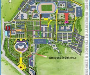 高校导航:东北财经大学校园平面图